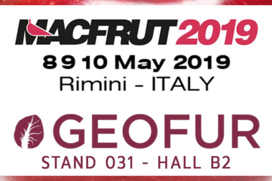 Geofur a Macfrut 2019