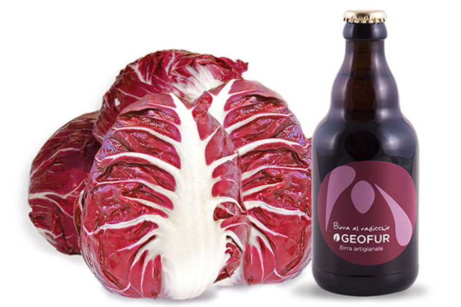 Craft Beer with Radicchio