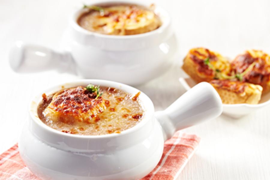 Radicchio di Verona PGI and Onion Soup